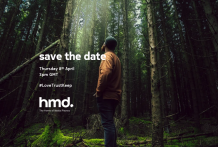 HMD Global schedules a launch event for April 8