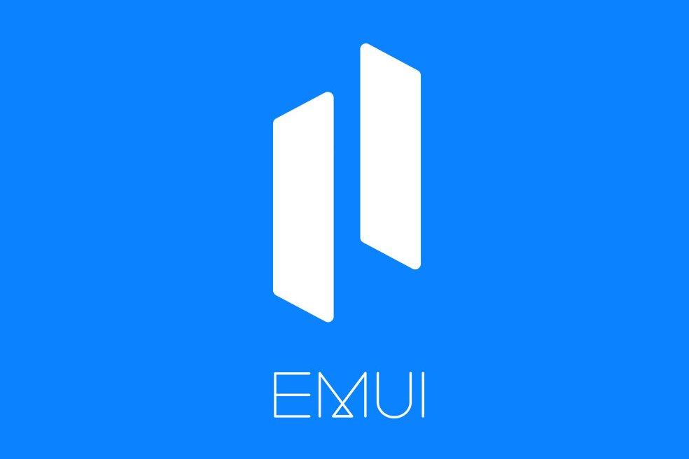 Huawei EMUI 11 Logo Blue Background