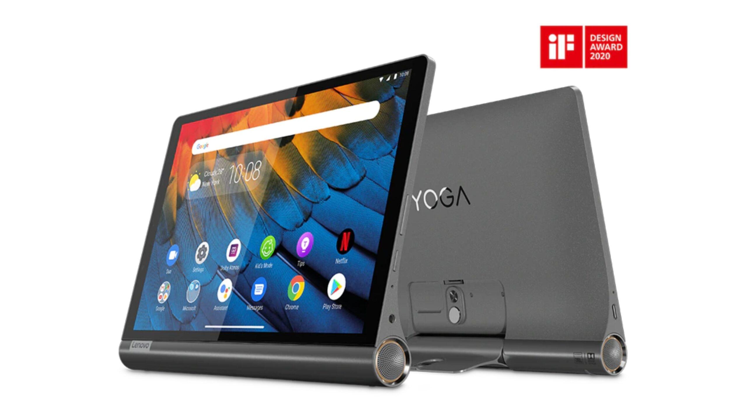 Lenovo YOGA Tab 13 key specs revealed via Geekbench and Google Play Console listings