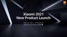 Xiaomi announces 2021 New Product Launch Event on March 29