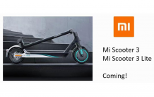 Xiaomi may launch the Mi Scooter 3 and Mi Scooter 3 Lite soon