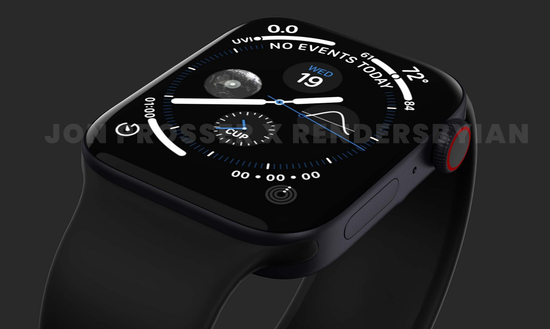 The latest Apple Watch Series 7 leak reveals new watch faces and more