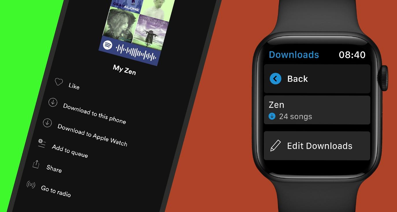 Apple Watch finally gets Spotify music downloads