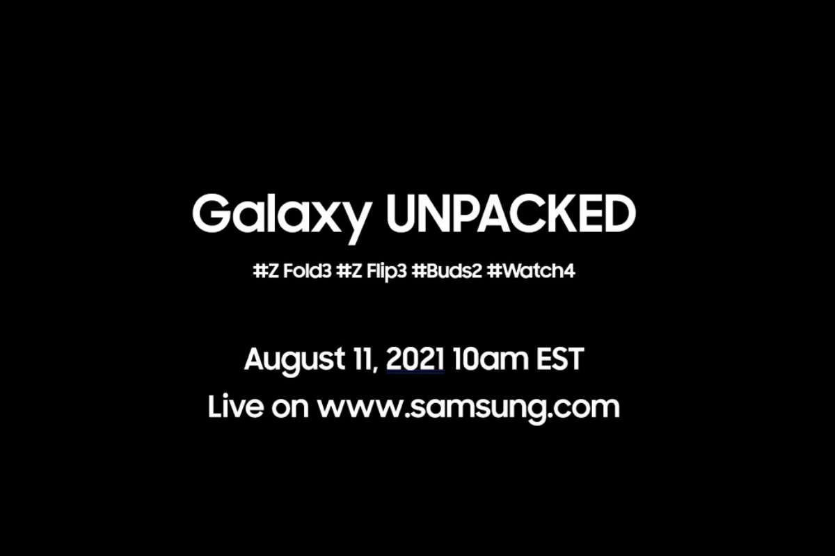 Samsung Unpacked might be happening on August 11