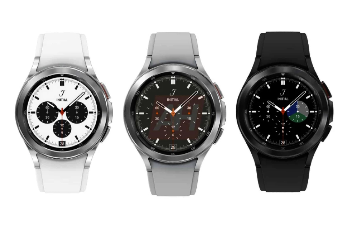 This is the Samsung Galaxy Watch 4 Classic
