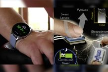 This new technology uses sweat that could power your gadgets one day