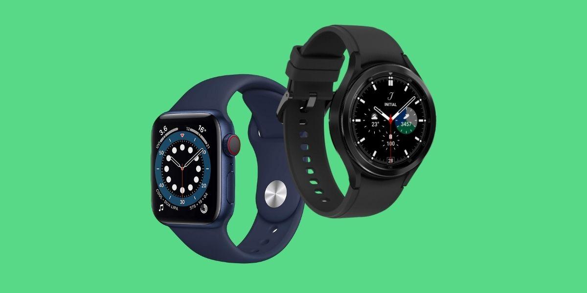 Samsung Galaxy Watch 4 Classic vs Apple Watch 6