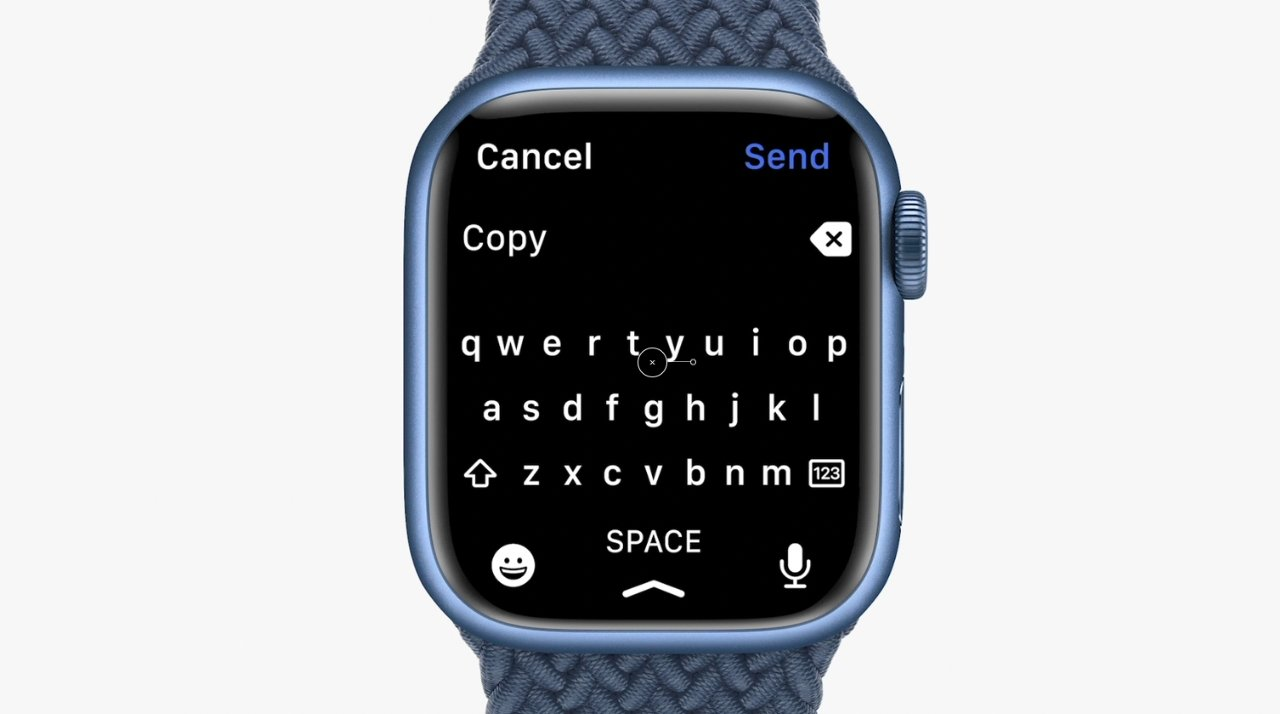 Apple allegedly copies third-party keyboard into Watch Series 7 without consent, developer sues the company