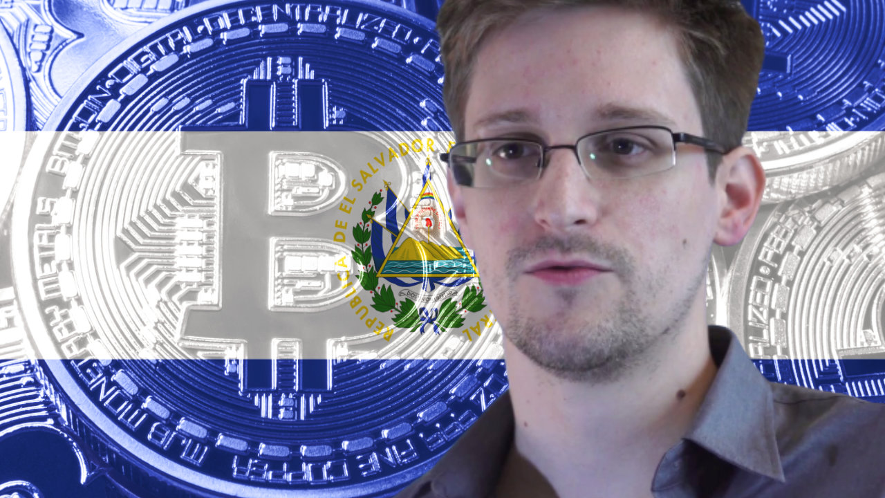 Edward Snowden Says Competing Nations Now Under Pressure to Acquire Bitcoin Following El Salvador