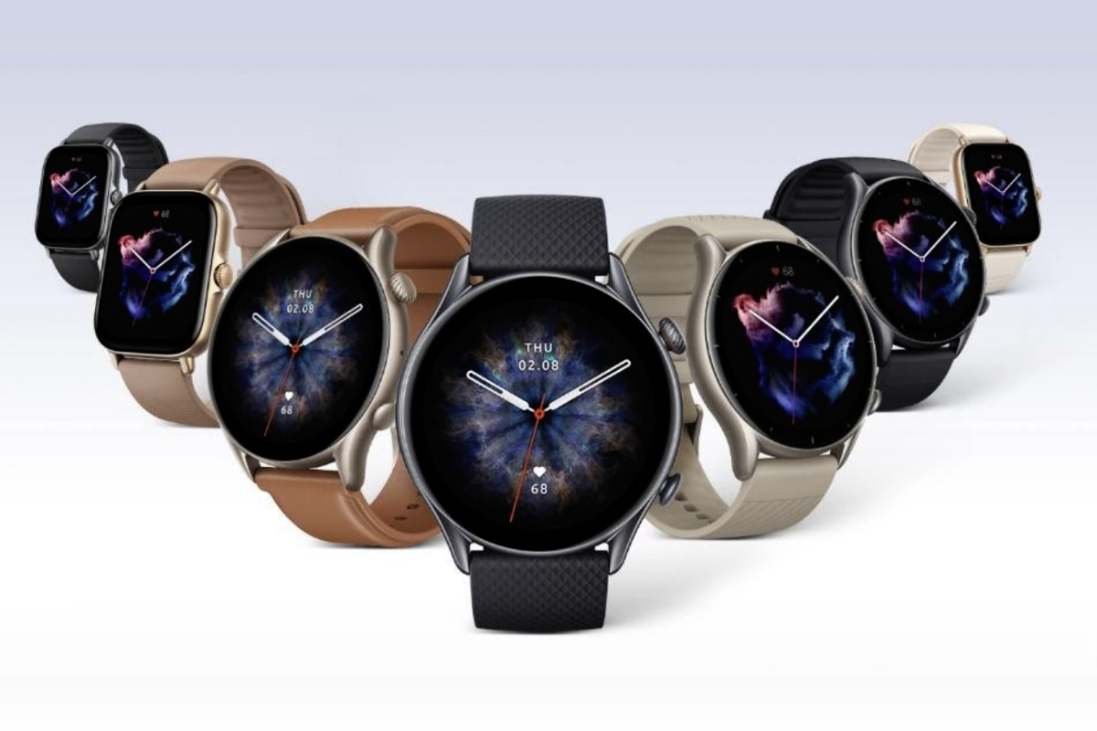 Amazfit unveils the GTR 3 Pro, GTR 3 and GTS 3 smartwatches