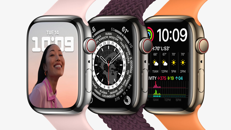 Apple has officially announced Watch Series 7 pre-order and shipping dates